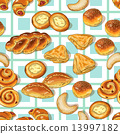 Bakery pattern 13997182