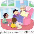 Stickman Kids Book Story 13999022