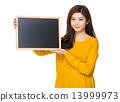 board woman blackboard 13999973