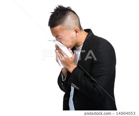 Man sneeze 14004053