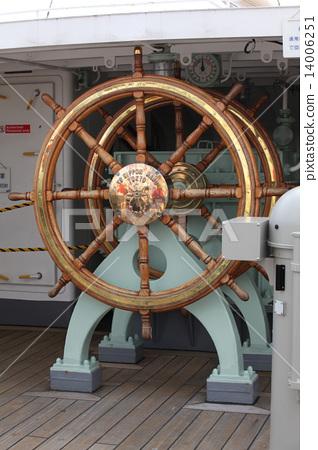 Nippon Maru's rat steering wheel 14006251