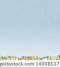 벡터, 눈, 스노우 14008537