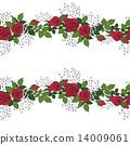장미, 빨강, 화환 14009061