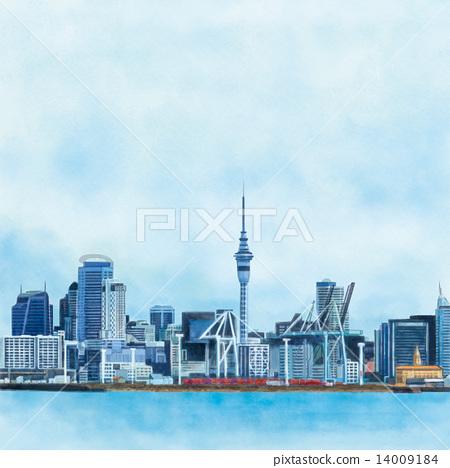 Auckland landscape 14009184