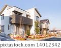 独立式的 建筑 家 14012342