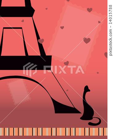 cat in Paris 14015788