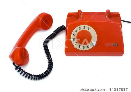 Retro telephone and receiver 14017857
