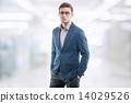 businessman, young, suit 14029526