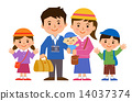 5 인 가족 14037374
