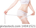 tape, slimming, woman 14041521