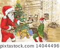 Christmas theme - Santa Claus, Baker 14044496
