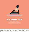 Electronic Iron In Hand. 14045718