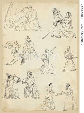 aikido - vector collection 14054537