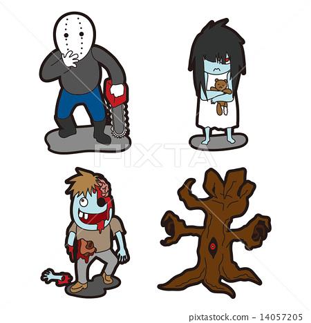 Character illustration   Monster · 4 14057205