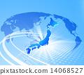 世界地图 全球 联网 14068527