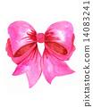 彩帶 粉色 蝴蝶結 14083241
