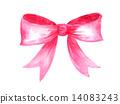 彩帶 粉色 蝴蝶結 14083243