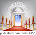 The Future Red Carpet Door 14091455