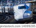 鐵路 子彈火車 圍欄 14099285