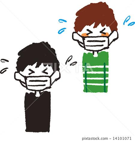 Hay fever mask · Cold cold boy 14101071