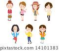 여성, 여자, 인물 14101383