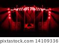 ライブハウスのステージ 14109336