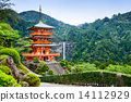 Nachi, Japan Pagoda and Waterfall 14112929
