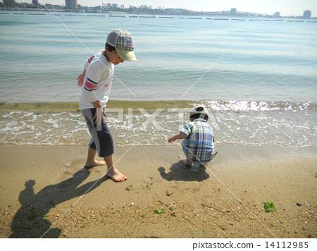 在海裡玩 14112985