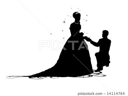 求婚 提议 侧影 14114764