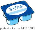 乳製品 矢量 食品 14116203