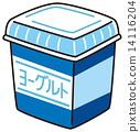 矢量 乳製品 食品 14116204