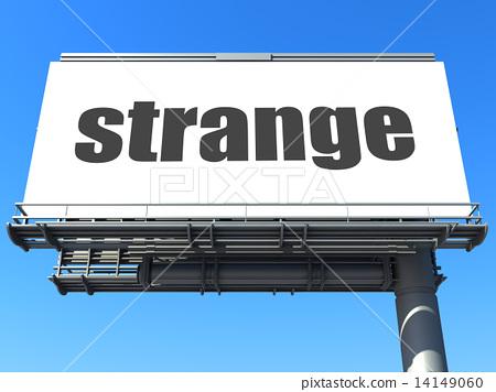 word on billboard 14149060