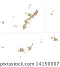 map, okinawa prefecture, Ryukyu 14150007