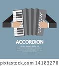 Vintage Musical Instrument Accordion 14183278