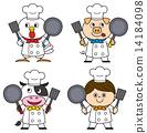 矢量 烹飪 大廚 14184098