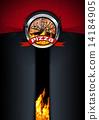 Pizza Menu Design 14184905