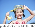 snorkel, kid, younger 14185707