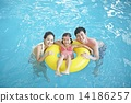 가족, 패밀리, 수영장 14186257