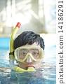 跳水 通气管 男性 14186291