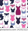 无缝的 女用贴身内衣裤 女性 14202322
