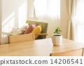桌子 桌 室内盆栽 14206541