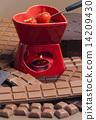 火锅 巧克力火锅 巧克力 14209430