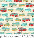 seamless, retro, pattern 14217029