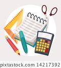 vector, concept, calculator 14217392