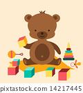 little cute bear 14217445
