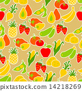 vegetable, background, pattern 14218269