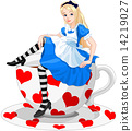 alice, wonderland, tea 14219027