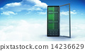 Composite image of server tower 14236629