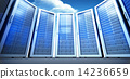Composite image of server room 14236659