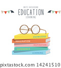 glasses, education, book 14241510